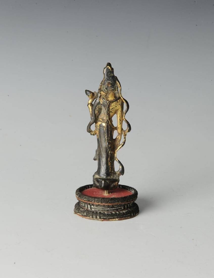 Chinese Avalokiteshvara Padmapana Buddha, Tang - 3