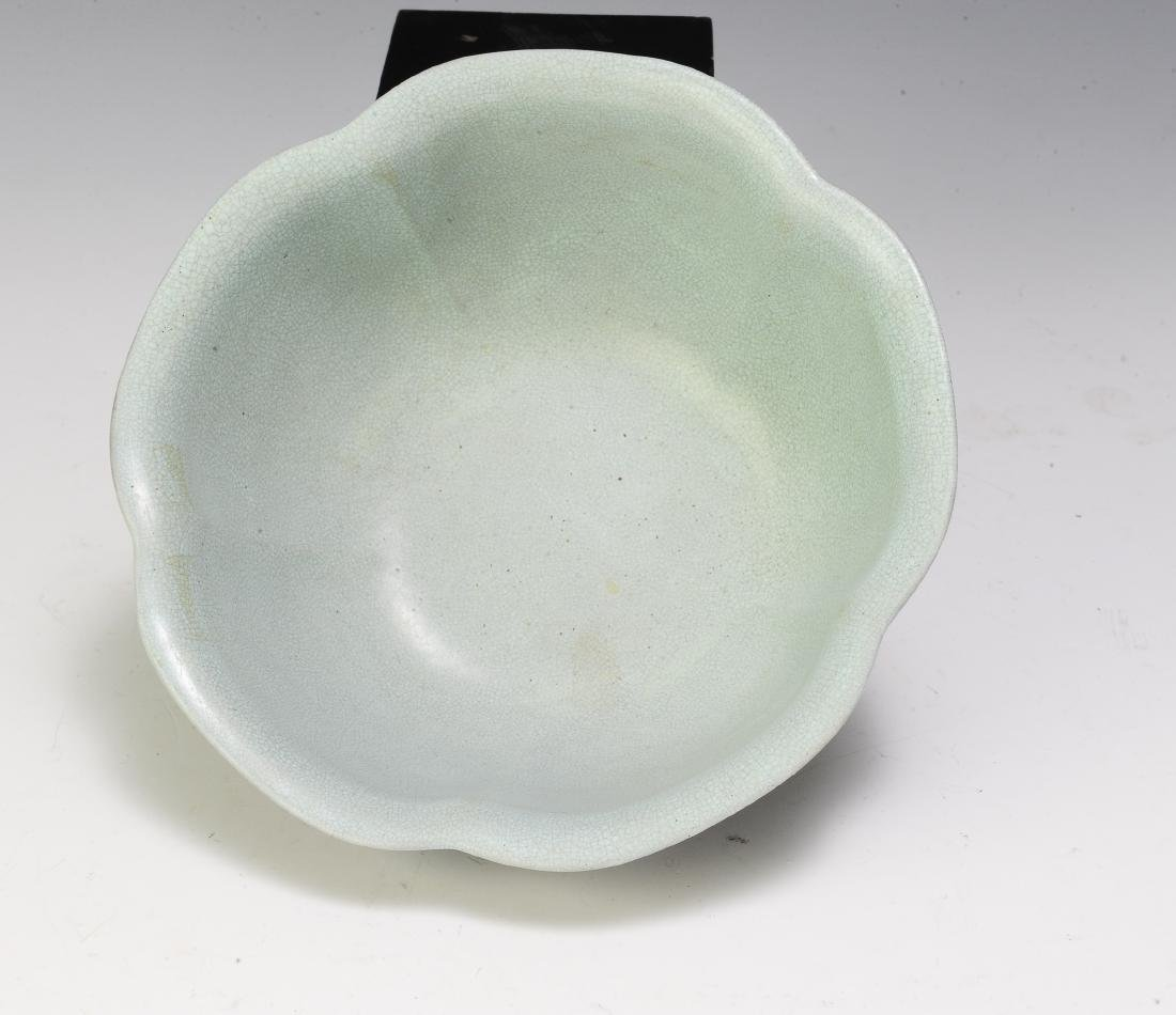 Chinese Yixing Zisha Cinquefoil Bowl, 19th Century - 6