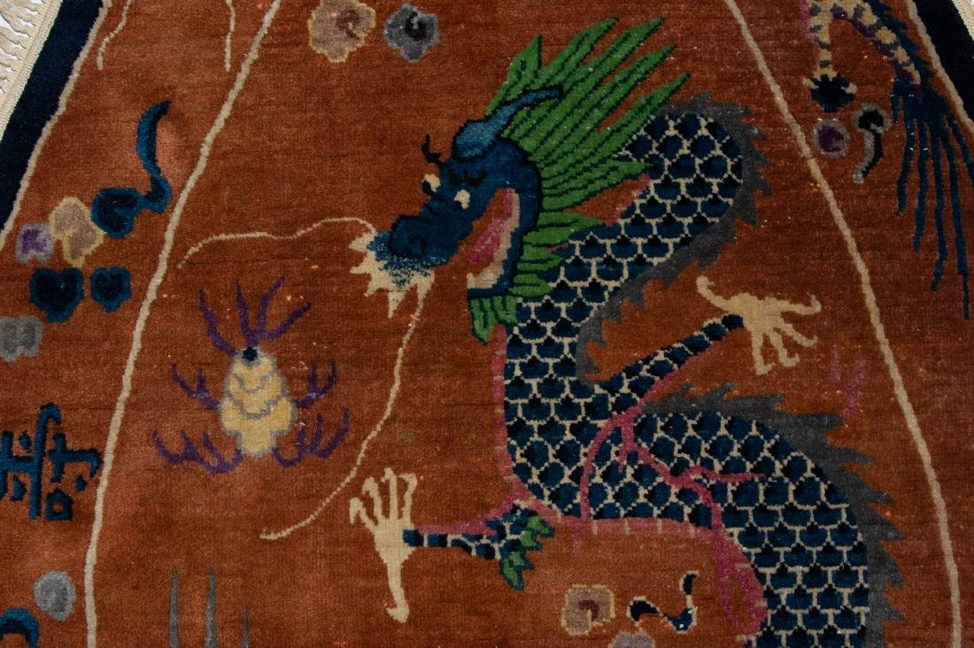 Chinese Dragon Rug, 19th Century - 2