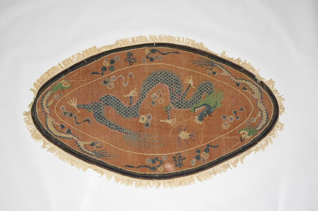 Chinese Dragon Rug, 19th Century - 6