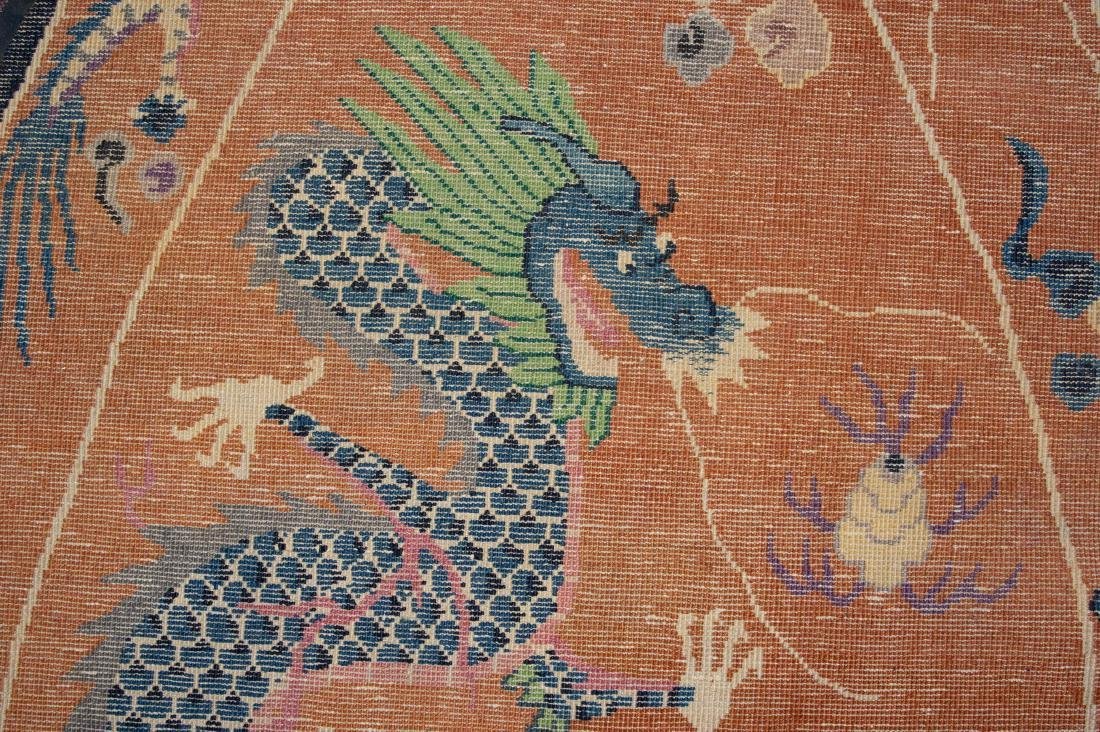 Chinese Dragon Rug, 19th Century - 7