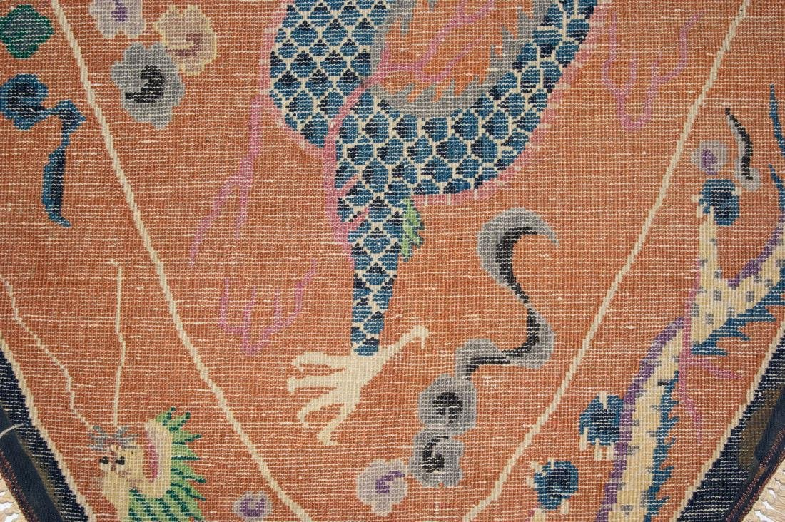 Chinese Dragon Rug, 19th Century - 8