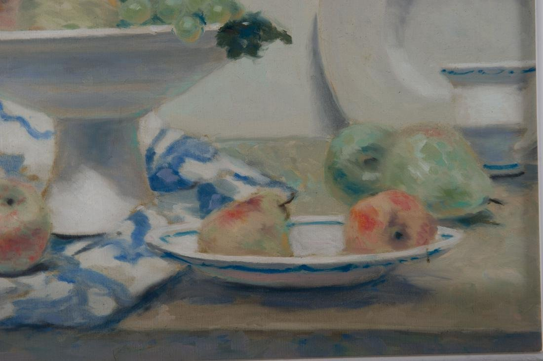 Andre Gisson Oil on Canvas Still Life Painting - 3