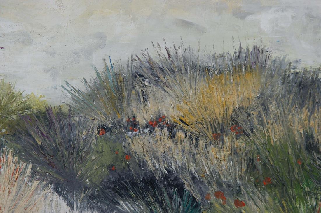 Ettore Manganiello Oil on Canvas Landscape - 2