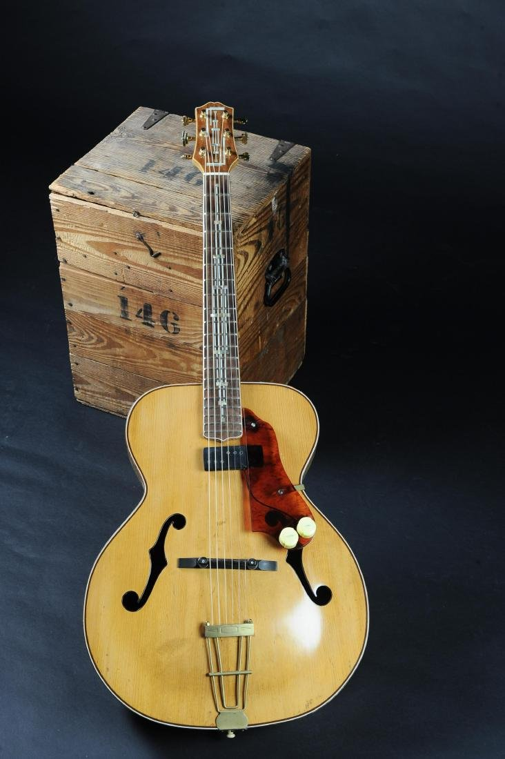 Kay K-62 Television Model Archtop Guitar - 2