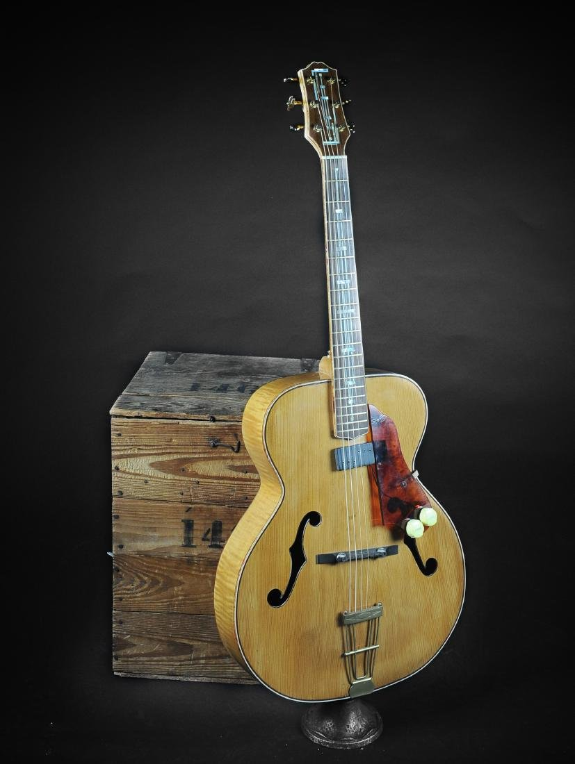 Kay K-62 Television Model Archtop Guitar - 3