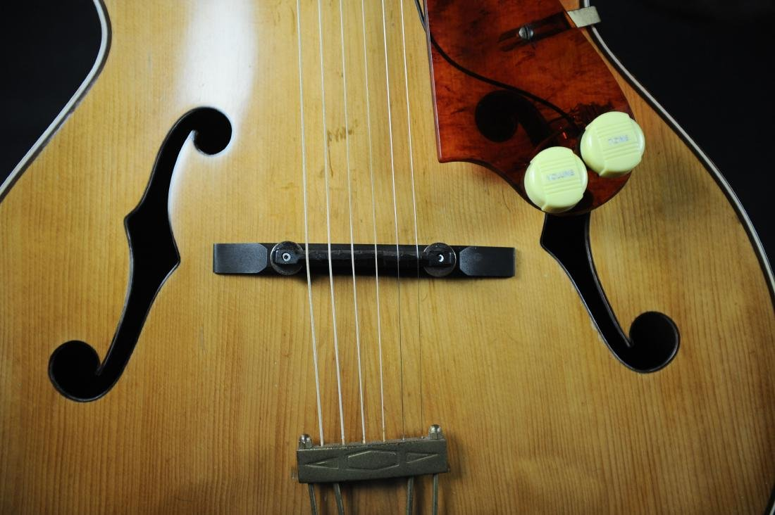 Kay K-62 Television Model Archtop Guitar - 7