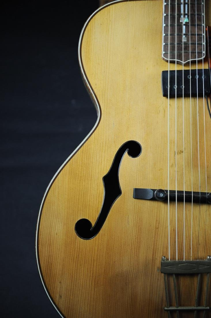 Kay K-62 Television Model Archtop Guitar - 8