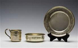 Sterling Silver Breakfast Set by Reed & Barton