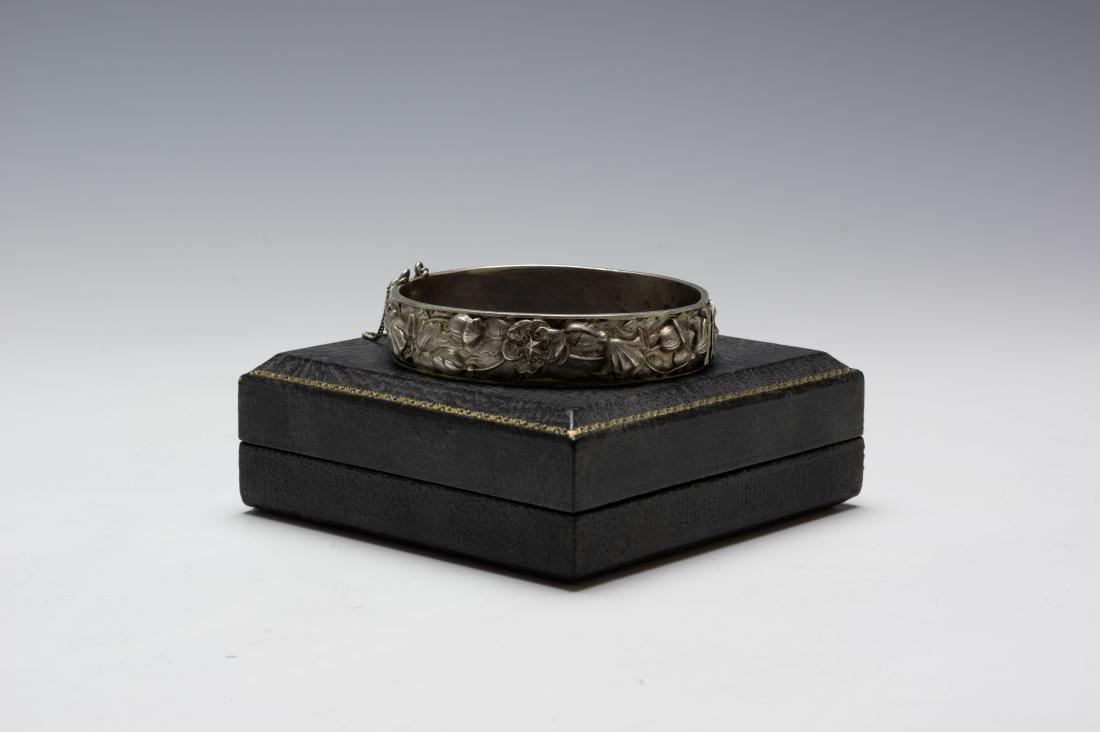 925 Sterling Cuff Bracelet Samuel Kirk Cased - 2