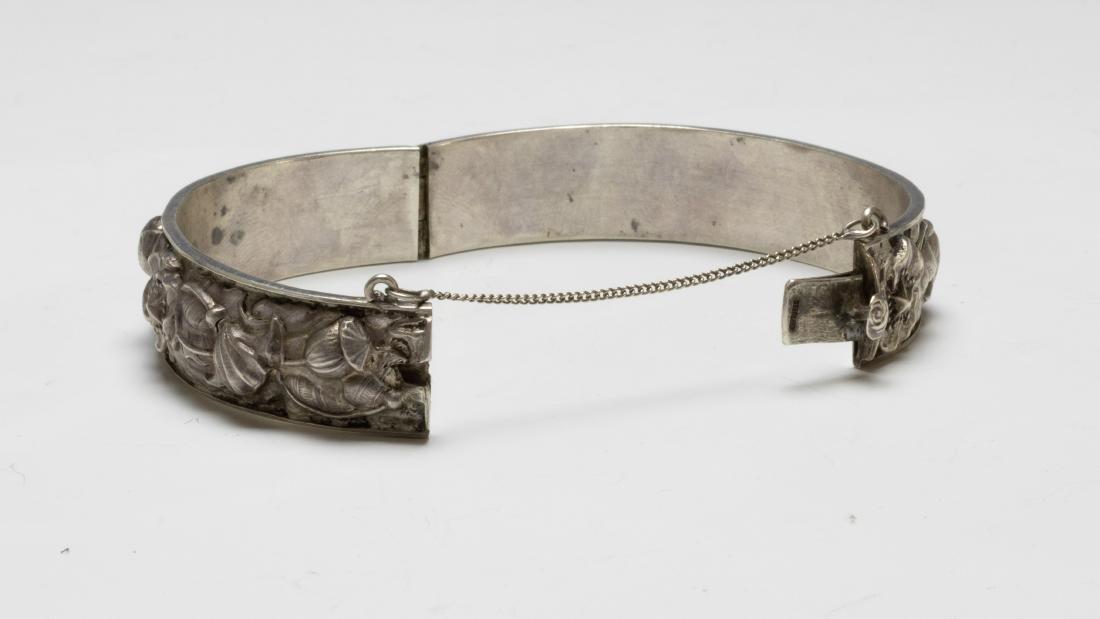925 Sterling Cuff Bracelet Samuel Kirk Cased - 6