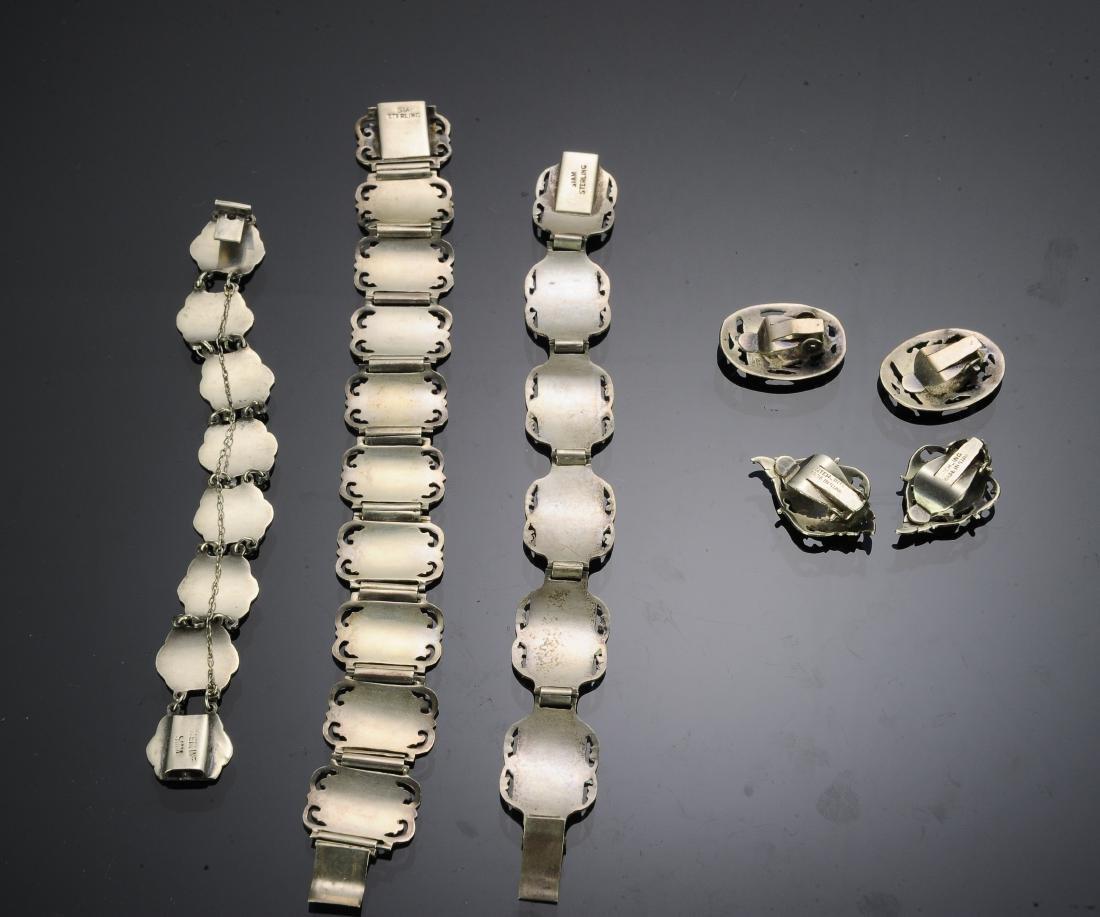 Siam Sterling Silver Niello Jewelry (5) - 2