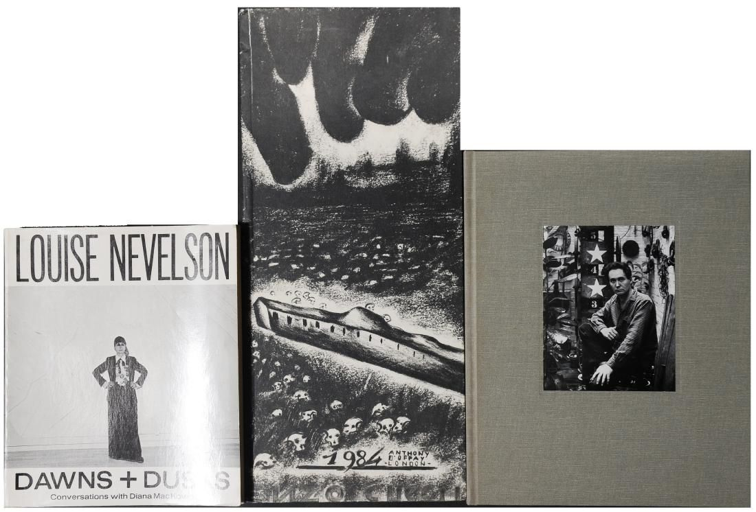 Signed Art Books - Robert Indiana and Enzo Cucchi