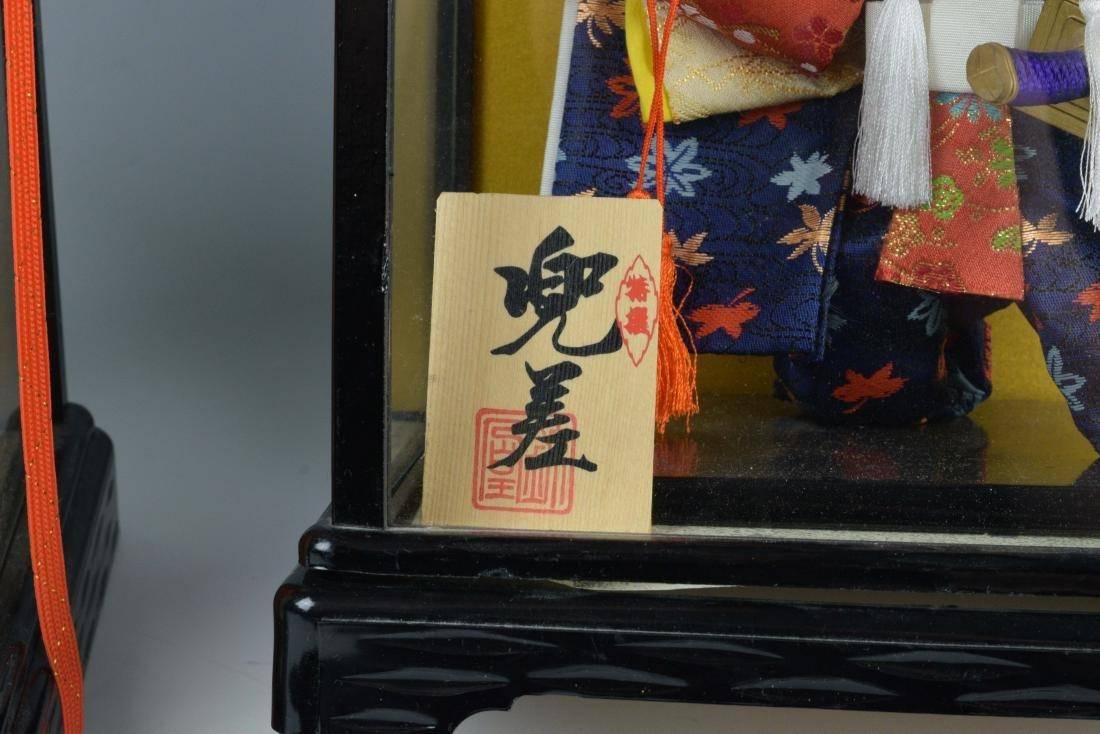 (2) Cased Japanese Dolls - 4