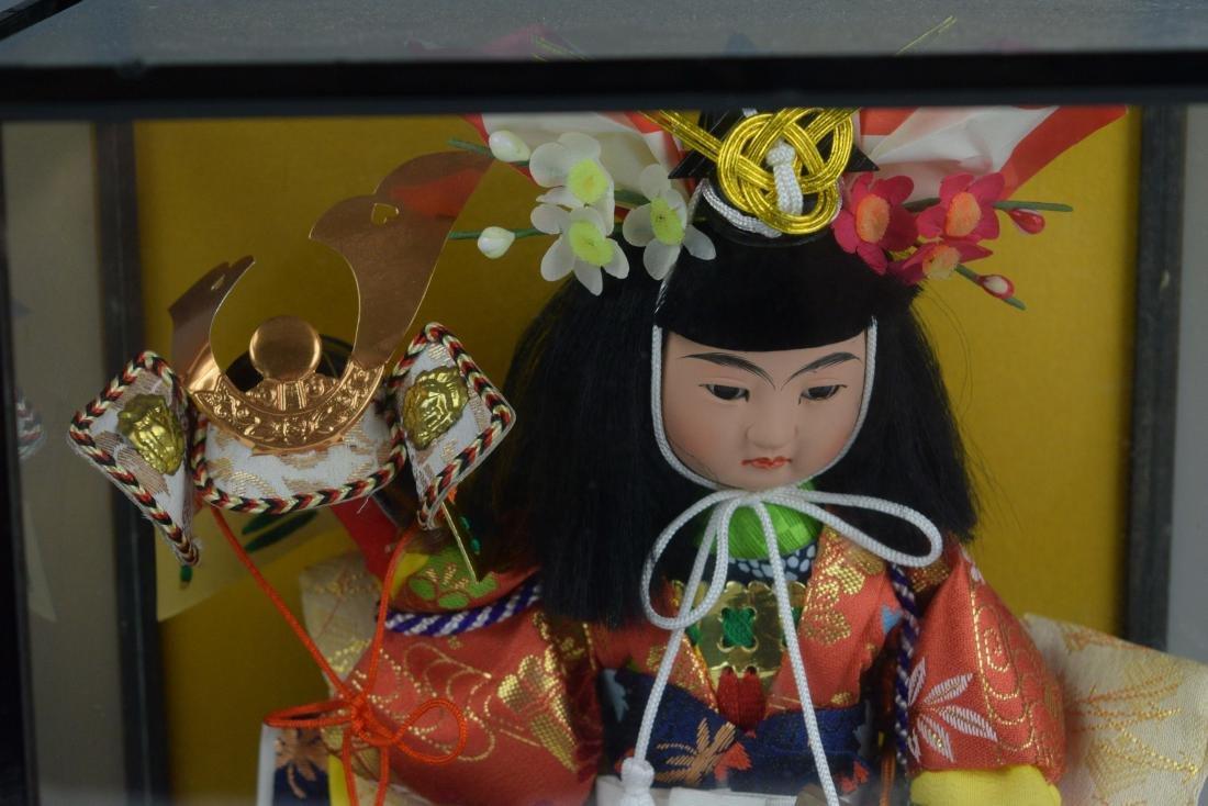 (2) Cased Japanese Dolls - 5