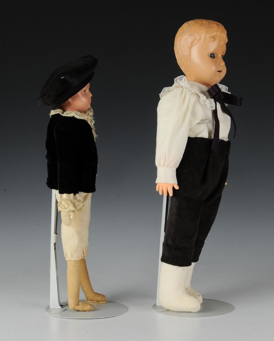 (2) German Celluloid Dolls by Schildkrot - 2