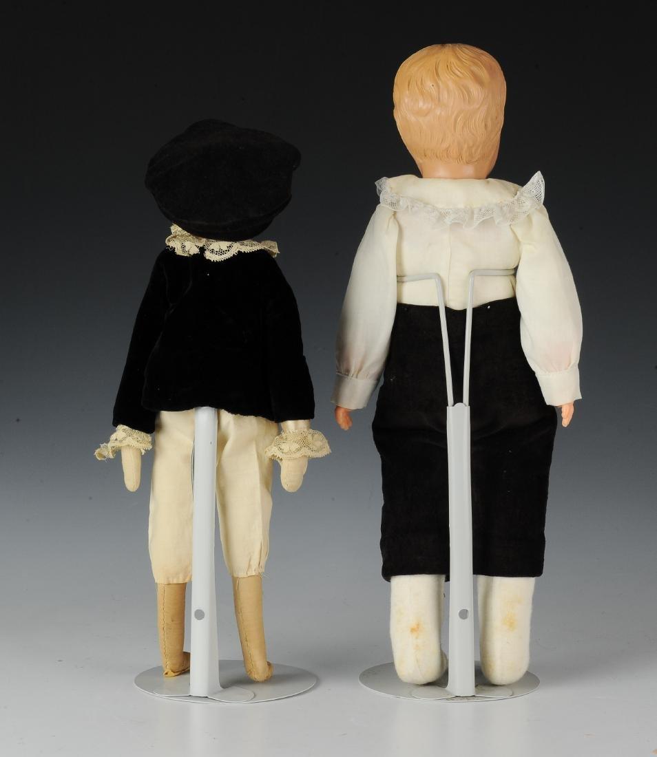 (2) German Celluloid Dolls by Schildkrot - 3