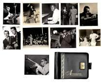 (11) Jazz Great Autograph Album Plus Photos