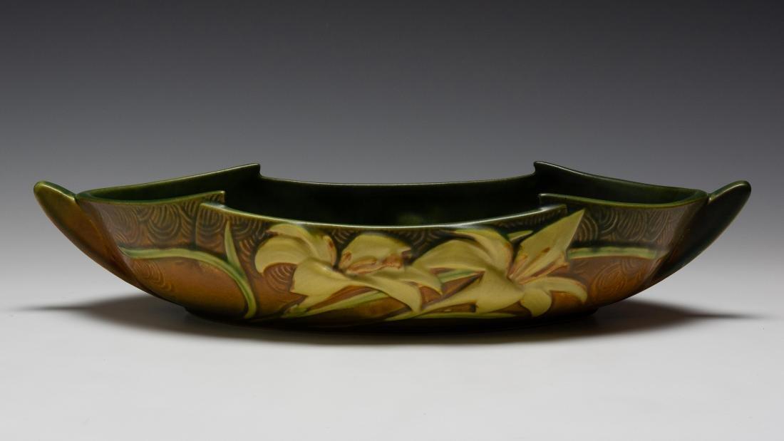 Roseville Pottery Zephyr Lily Bowl
