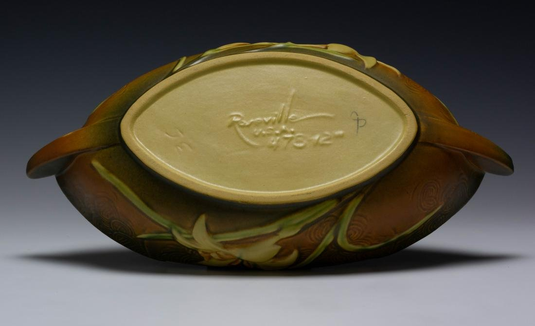 Roseville Pottery Zephyr Lily Bowl - 6