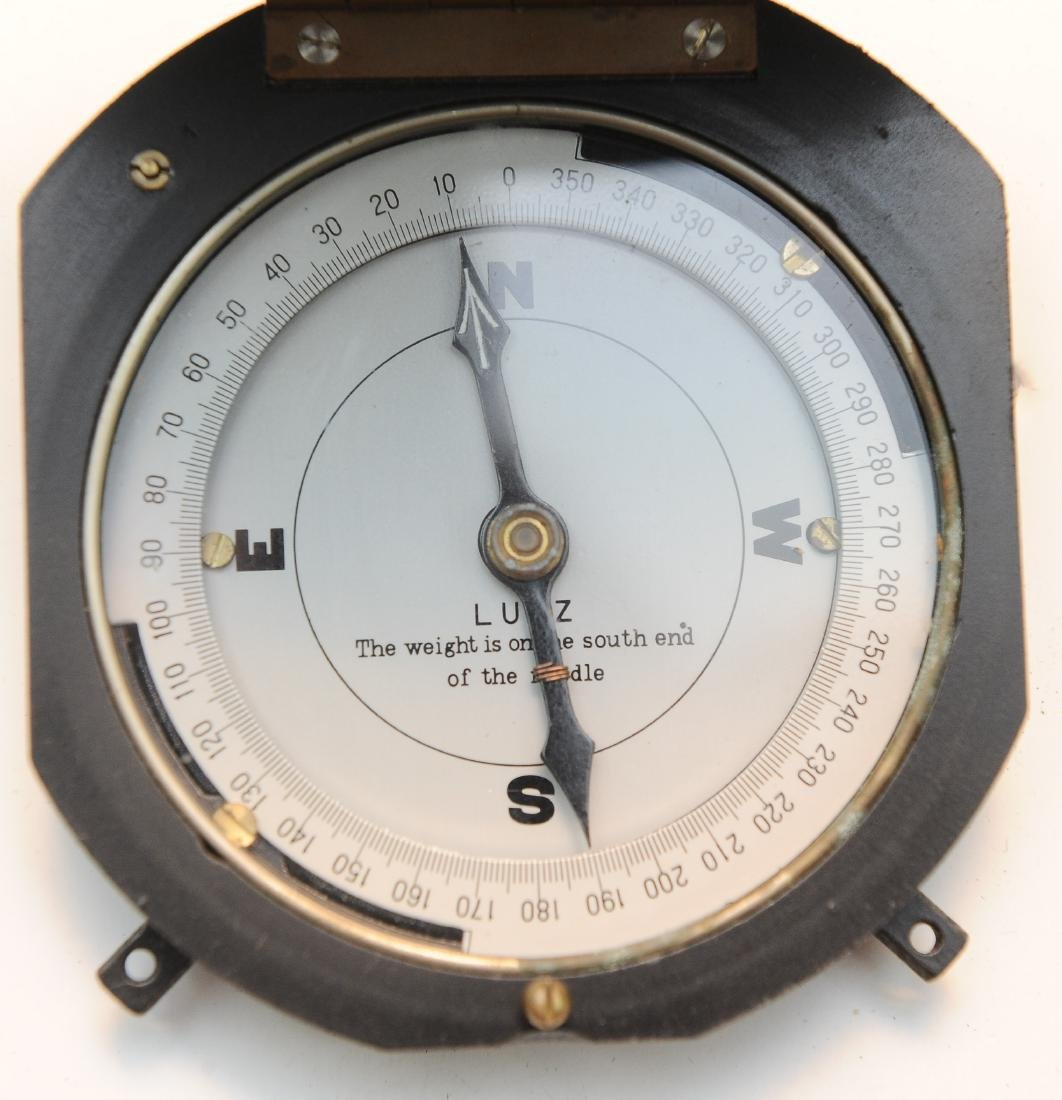 Vintage Boxed Compass - Lutz - 3