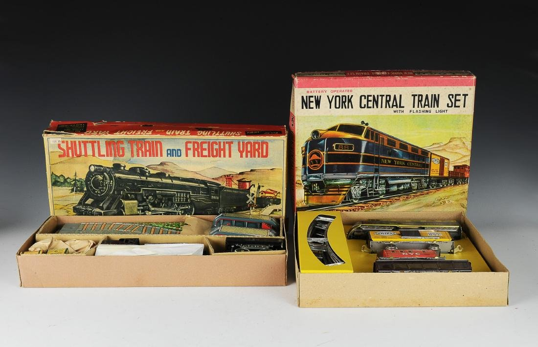 (2) Boxed Battery Operated Train Sets