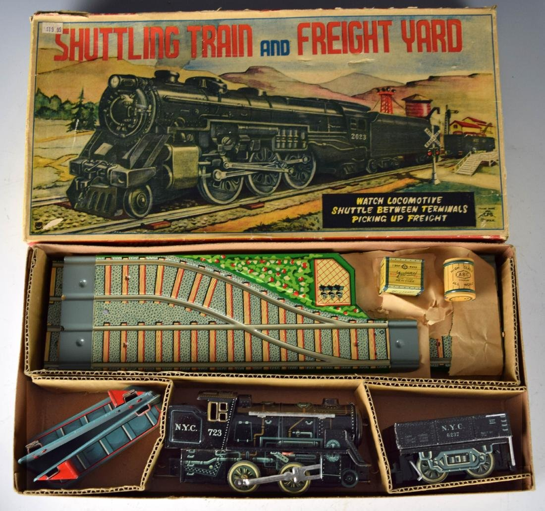 (2) Boxed Battery Operated Train Sets - 2