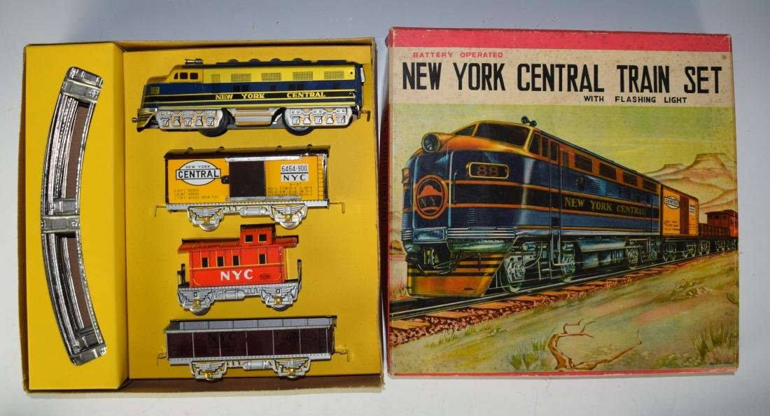 (2) Boxed Battery Operated Train Sets - 3