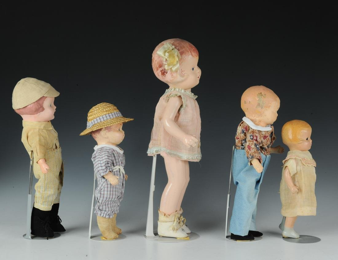 (5) Effanbee & Other Composition Dolls - 2