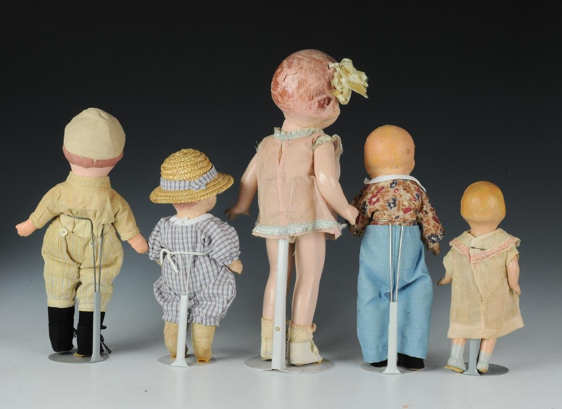 (5) Effanbee & Other Composition Dolls - 3