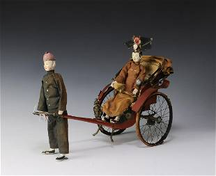 3 Chinese Figurines 19th Republic Era