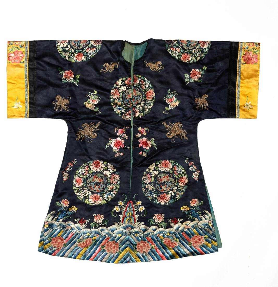 Chinese Court Lady's Robe, 19th Century