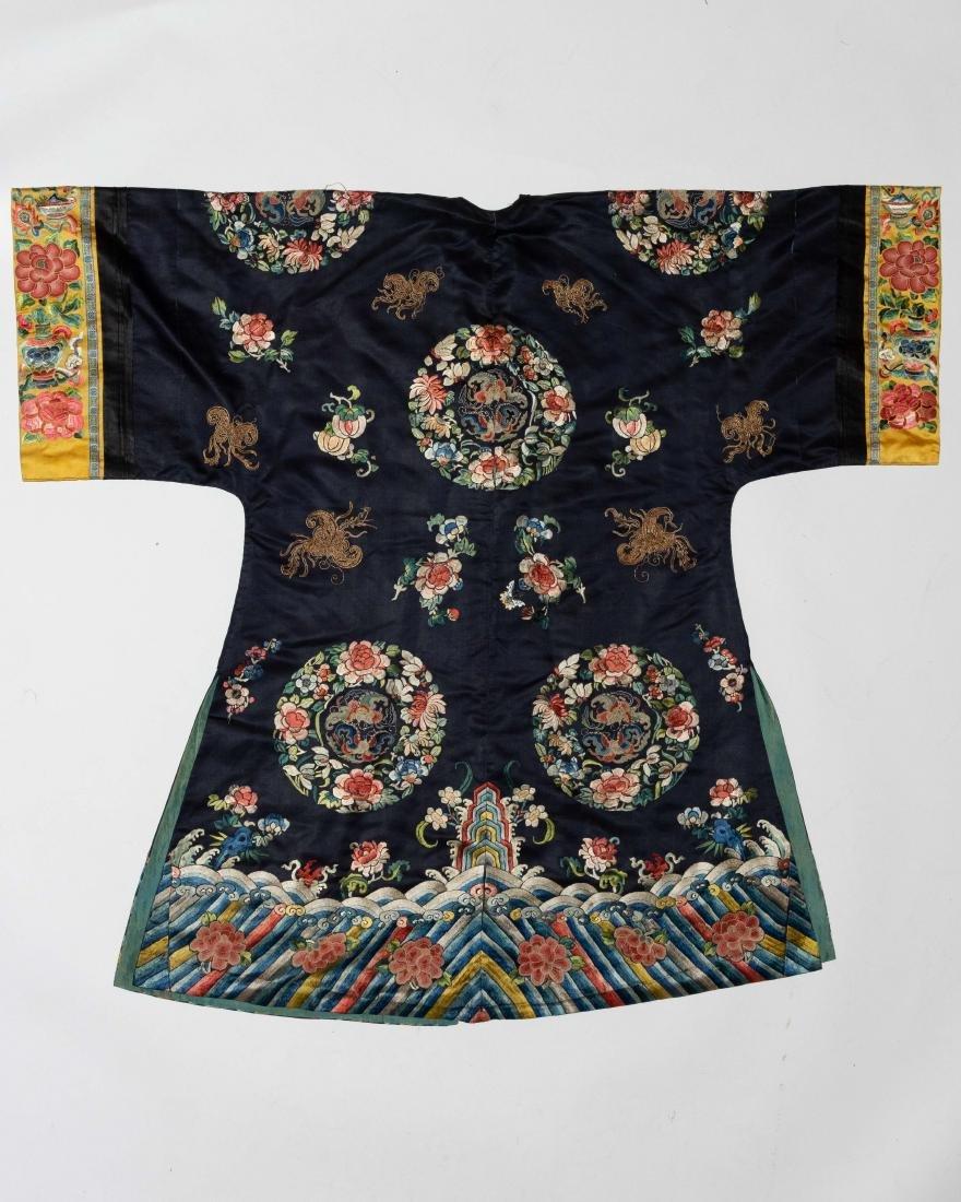 Chinese Court Lady's Robe, 19th Century - 8