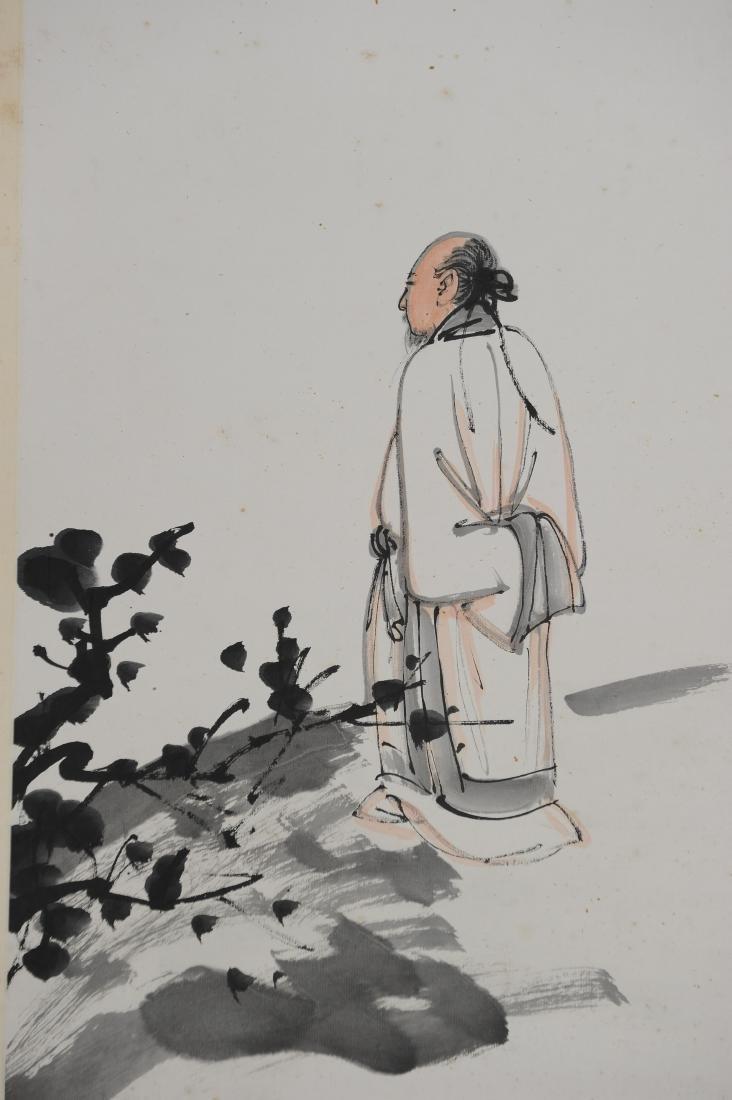 Painting by Zhang Daqian given to Li Weiguang - 3