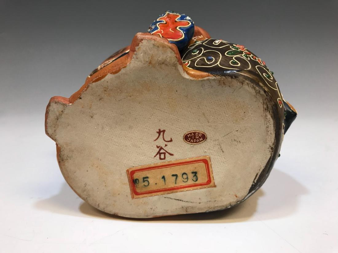 (4) Japanese Satsuma Ceramic Hotei Figures II - 5