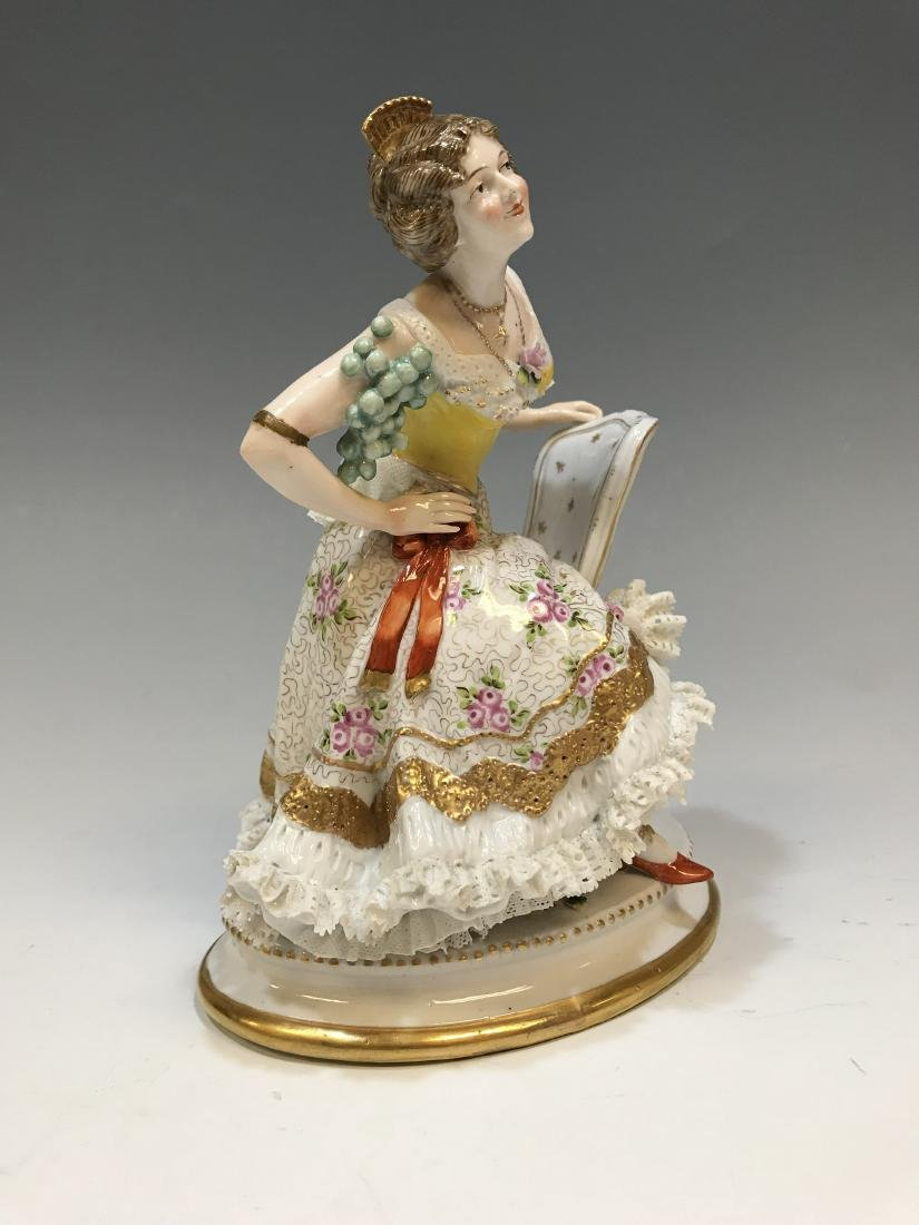 British Royal Doulton Figure & Royal Crown Derby - 3