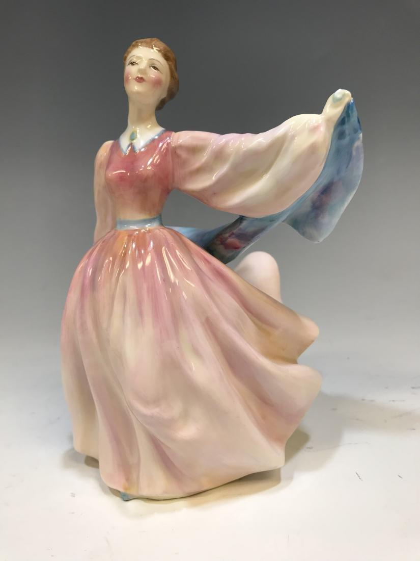 British Royal Doulton Figure & Royal Crown Derby - 6