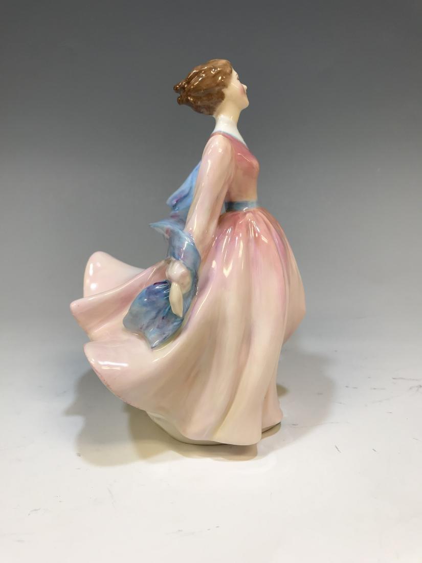 British Royal Doulton Figure & Royal Crown Derby - 8