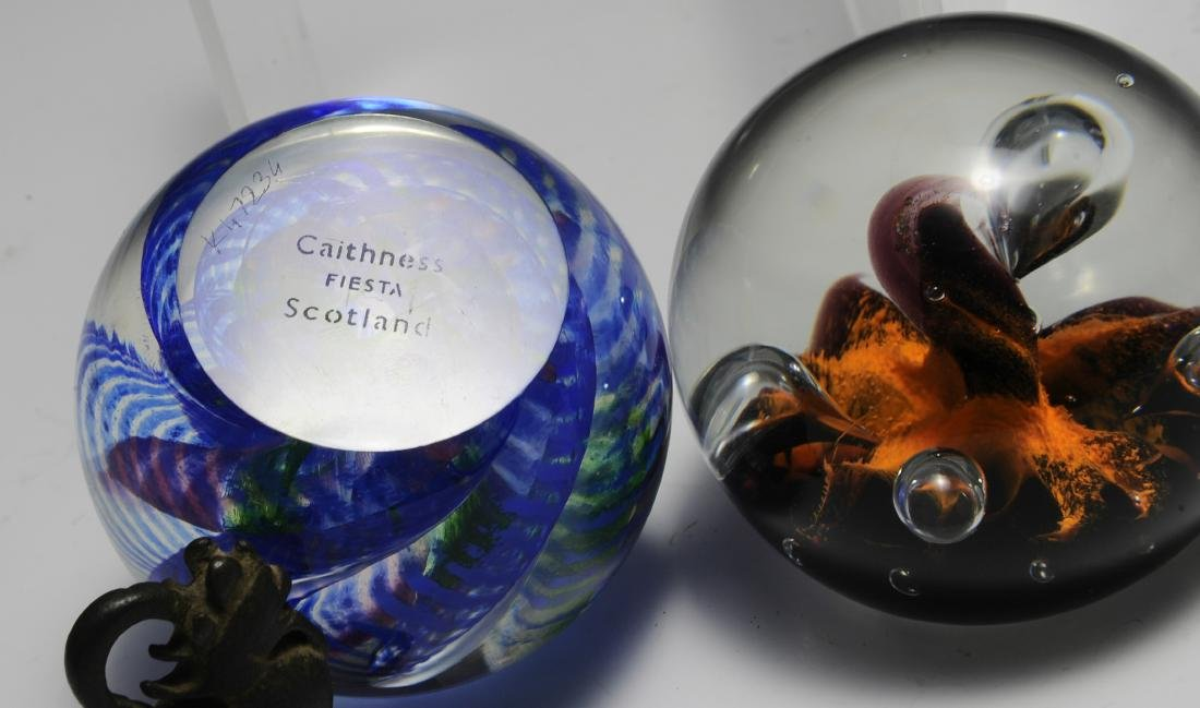 (2) Paperweights Inc. Caithness - 3