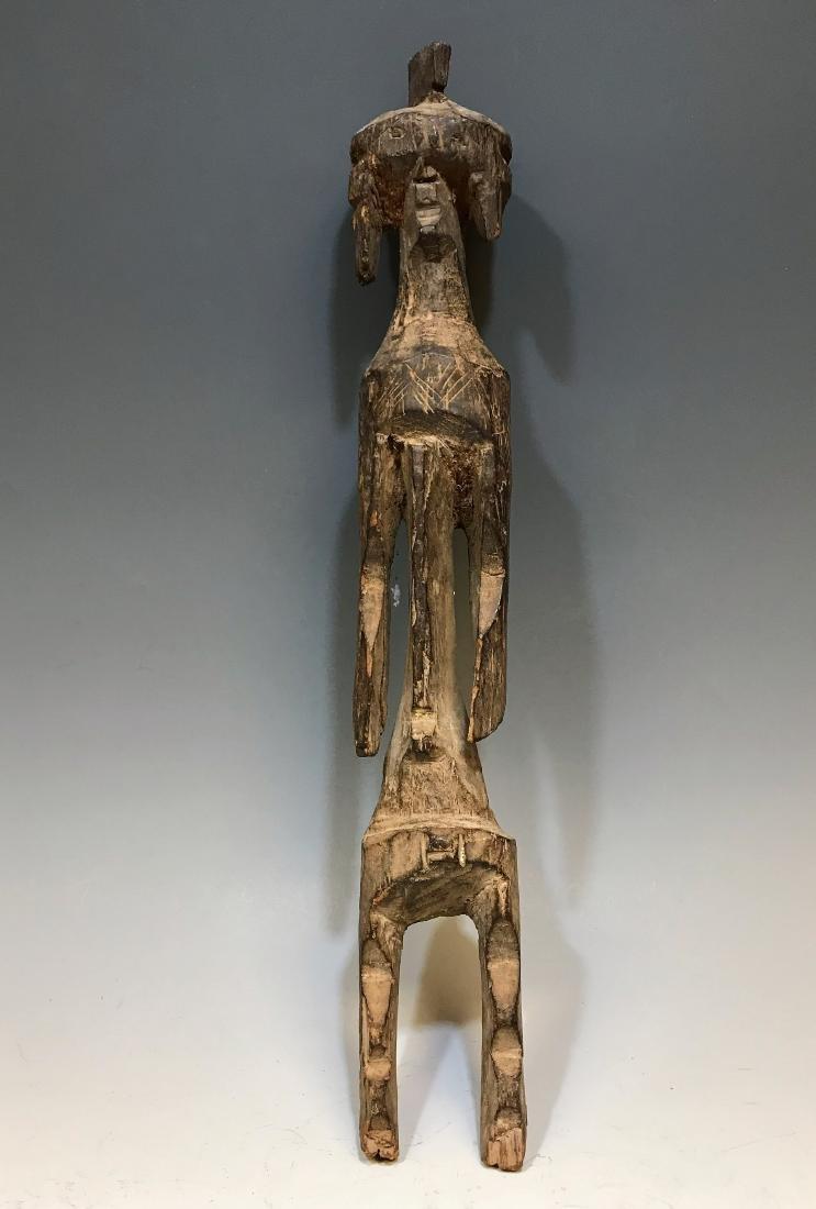 Vintage African Mumuye Carved Wood Figure