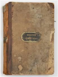 Barnum's Hotel Register with Important Signatures