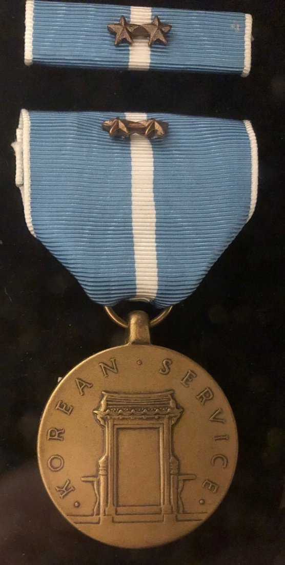 Large WWII Archive of Mervin J Frost ID'ed Medals - 7