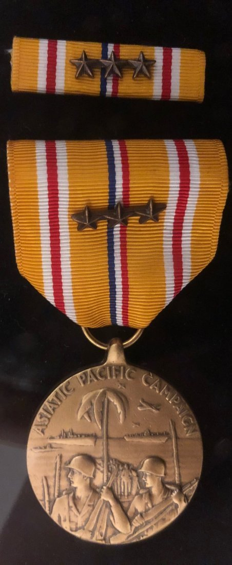 Large WWII Archive of Mervin J Frost ID'ed Medals - 9