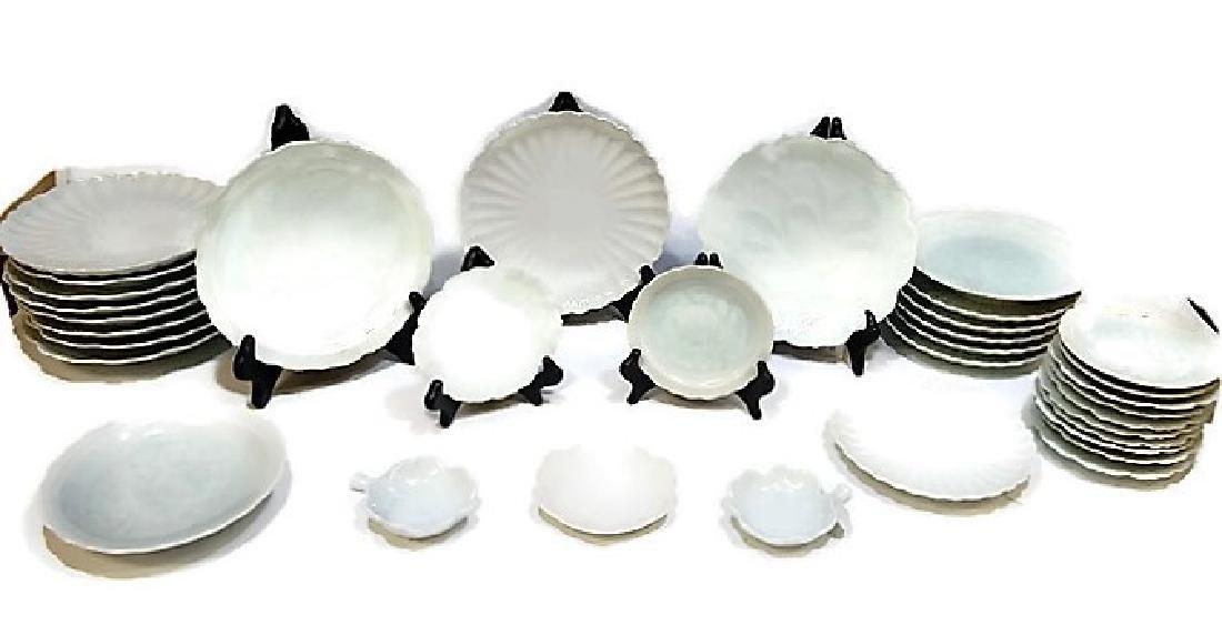 (35) Asian Celadon Porcelain Service