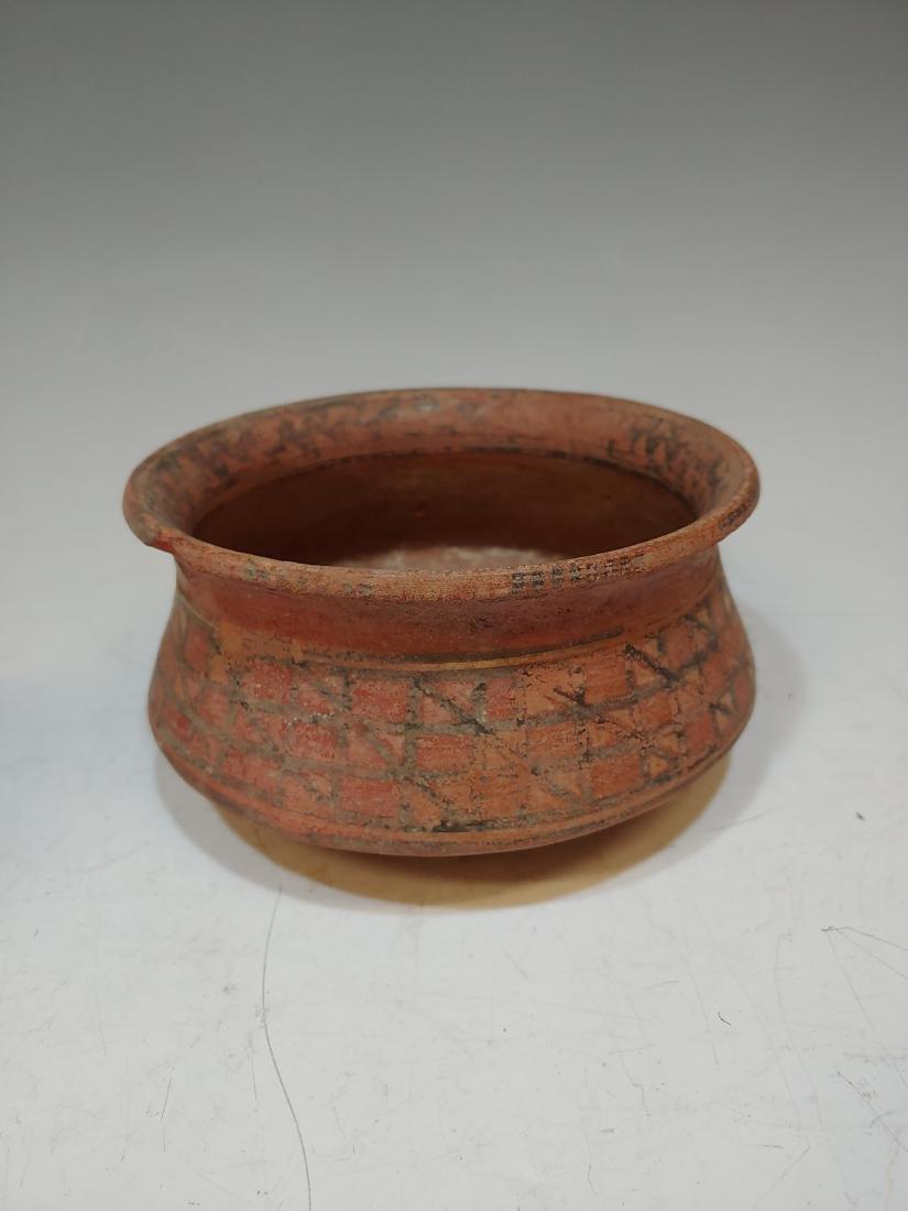 (3) Pre-Columbian Inca Ceramic Bowls & Cup - 2