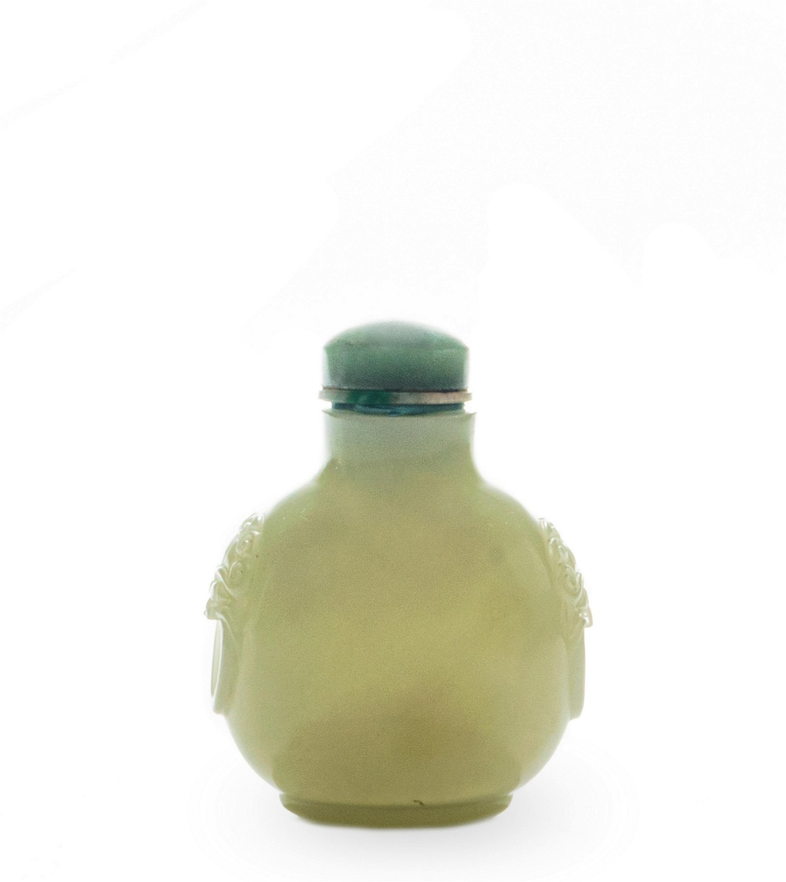Chinese Jade Carved Snuff Bottle, 18-19th Century