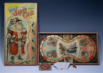 Game of the Visit of Santa Claus McLoughlin Bros.