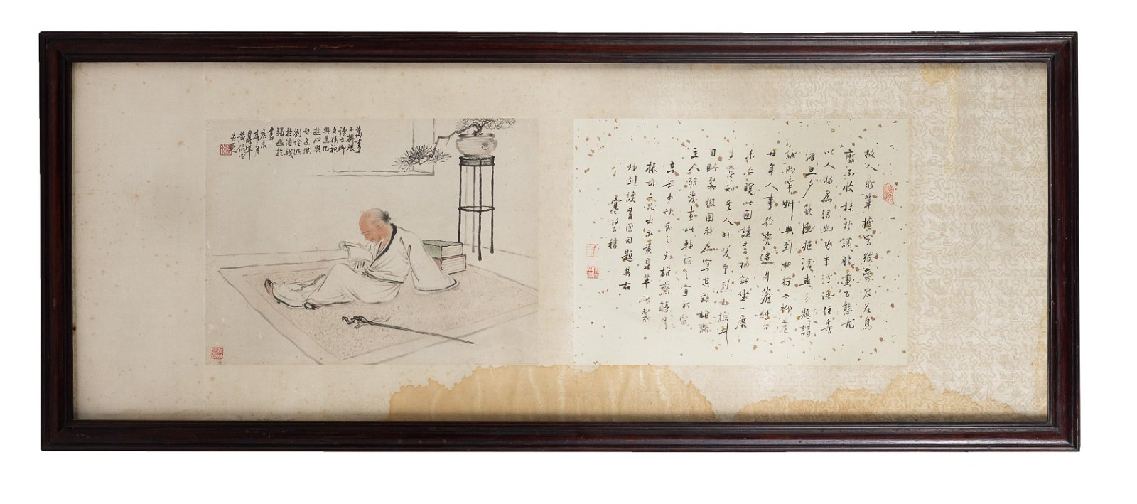 Chinese Painting & Calligraphy by Huang Kan