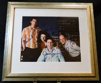 Seinfeld Cast Signed Photo with Cert
