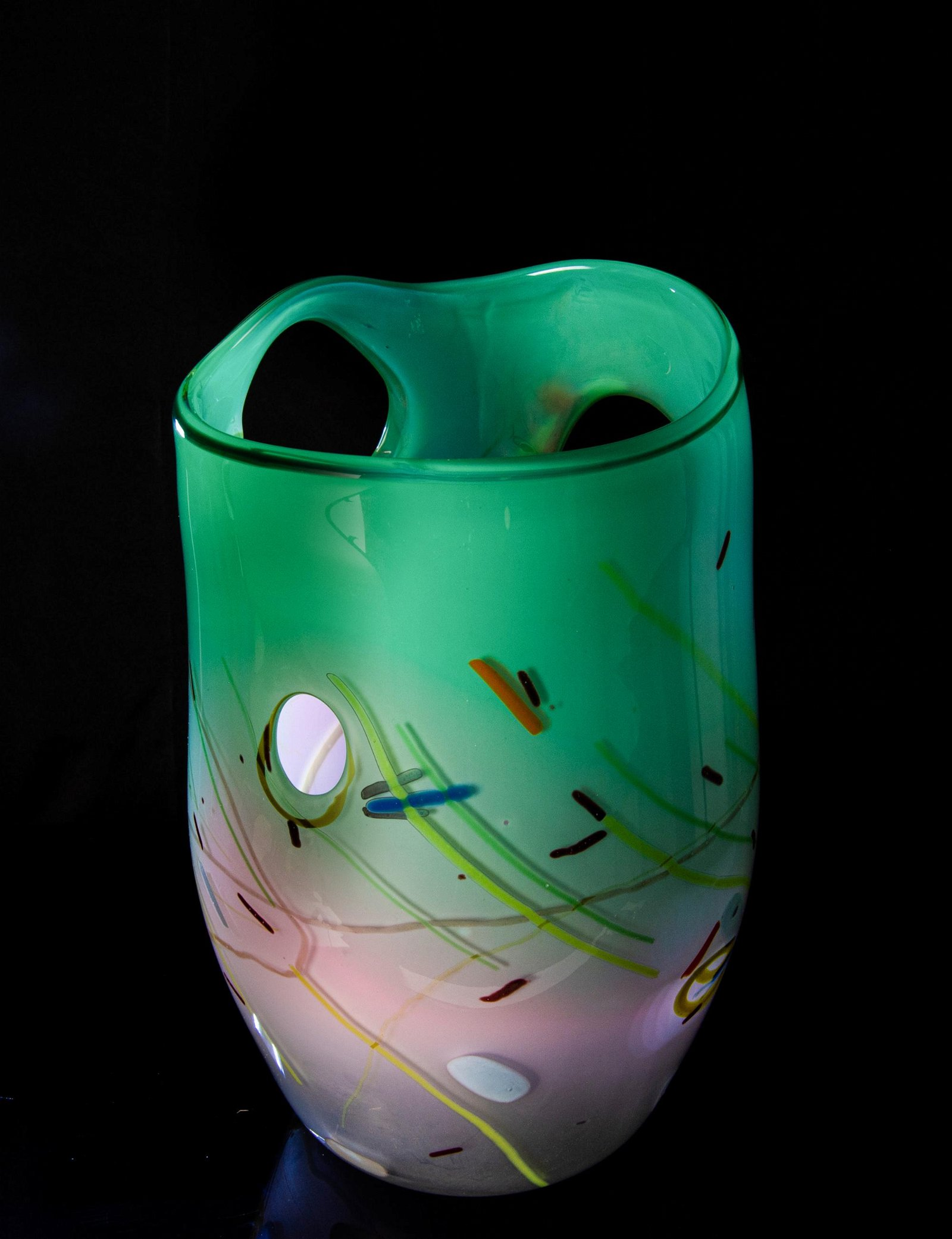 James Harmon Studio Glass Vase